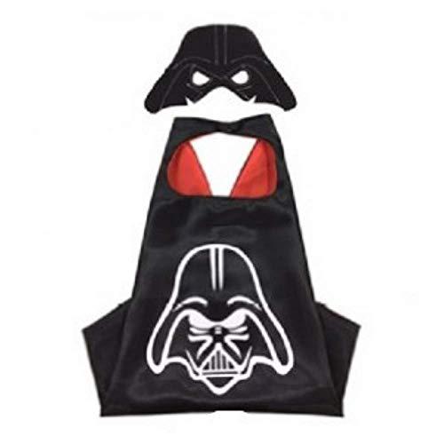 Kids Superhero Dress Up Costumes Capes and Masks (Darth Vader)