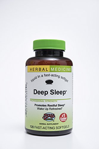 Deep Sleep® Herbal Sleep Aid: 120-Count Bottle of Softgels by Herbs Etc.