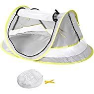 Baby Travel Tent,Portable Ultralight Folding Baby Beach...