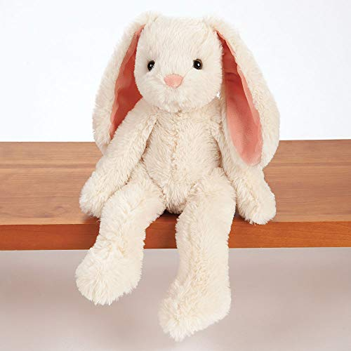 Vermont Teddy Bear - Soft Bunny Stuffed Animal, Ivory, 15 inches