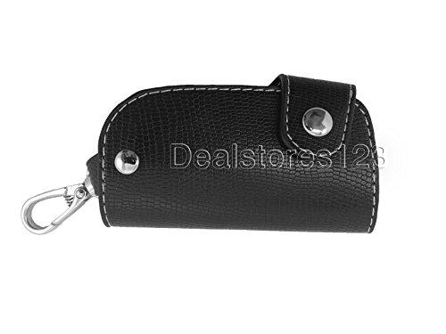 3 Stitched Key Leather Genuine Holder Black DealStores123 FX4q4