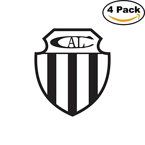 fan products of Club Atletico Liniers de Bahia Blanca Argentina Soccer Football Club FC 4 Stickers Car Bumper Window Sticker Decal 4X4