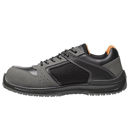 Parade - Zapatos de seguridad Holia 3804 - Hombre - Negro / Gris - 45 D6mFtqI