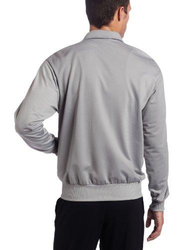 : adidas le dga firebird track top, turno grey / neo