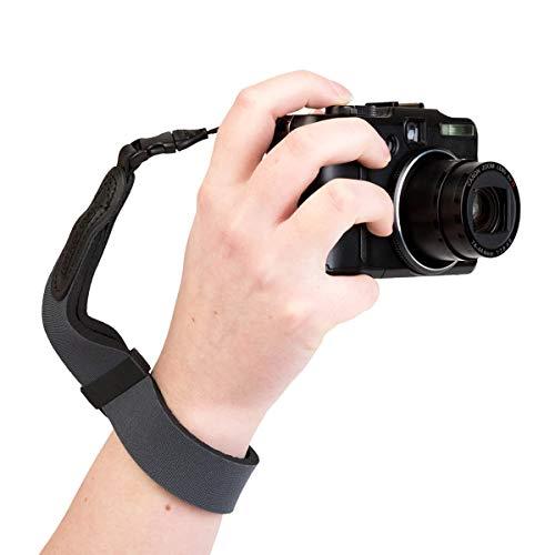OP/TECH USA Mirrorless Neoprene Camera Wrist Strap (Steel)