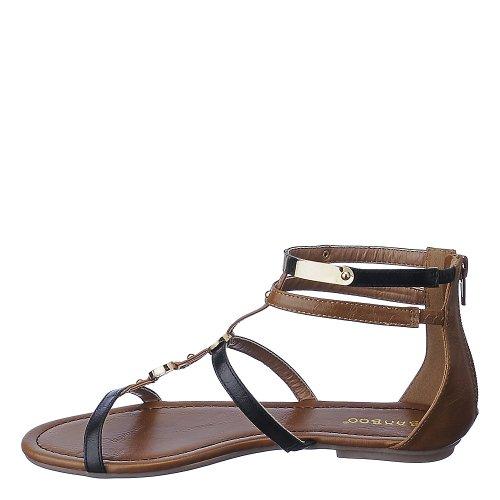 Bambus Womens Pable-01 Sandal Sort