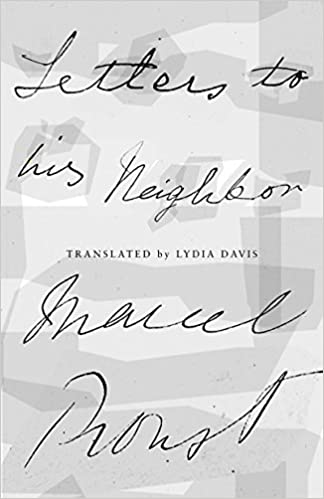 Image result for letters to his neighbor proust