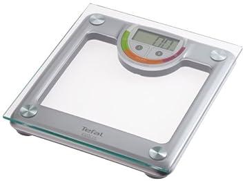 Tefal Evolis Glass, LCD, Blanco, Alcalino, 1.5 V LR03 - Báscula de baño: Amazon.es: Salud y cuidado personal