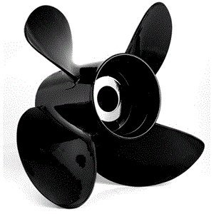 Turning Point Hustler Aluminum Right-Hand Propeller 14.5 X 17 4-Blade
