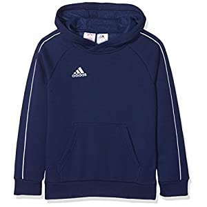 adidas Children's Core 18 Hooded Sweatshirt