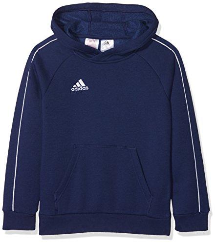 Adidas Oscuro Core 18 Hoodie Blanco Azul Kids qw8qr0B