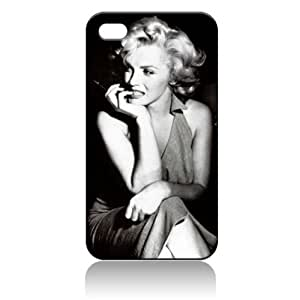 Marilyn Monroe Hard Case Skin for Iphone 4 4s Iphone4 At&t Sprint Verizon Retail Packing.