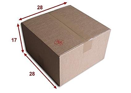 Lot de 25 Boîtes carton (N°30) format 280x280x170 mm