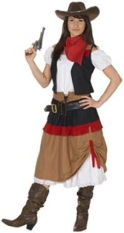 Rubies 1 3391 42 - Disfraz de vaquera para mujer (talla 42 ...