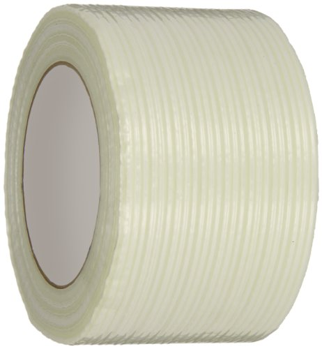 Intertape Polymer Group RG300 110 lbs/in Fiberglass Reinforced BOPP Backed Filament Tape, 72mm x 54.8M, Case of 16 Rolls by Intertape
