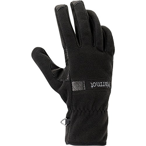 (Marmot Men's Windstopper Glove, Black,)