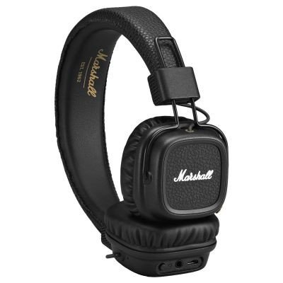 Marshall Major II Bluetooth On-Ear Headphones, Black