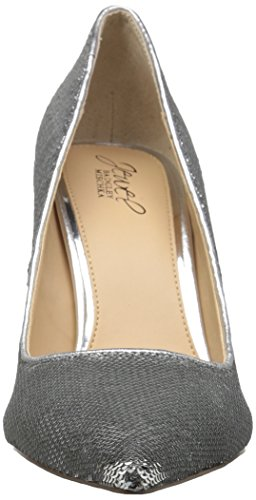 Badgley Pump Luxury Women's Silver Mischka nB0rABpWTx