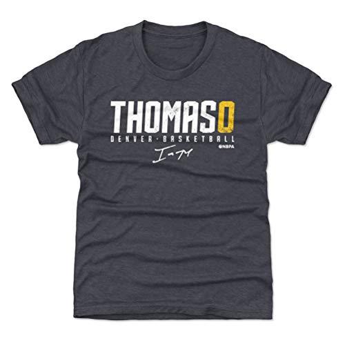 500 LEVEL Isaiah Thomas Denver Basketball Youth Shirt (Kids X-Large (14-16Y), Tri Navy) - Isaiah Thomas Elite Y WHT ()
