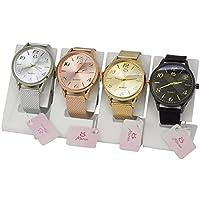 Kit 4 Relógio Feminino Orizom Original Pulseira Ajustável