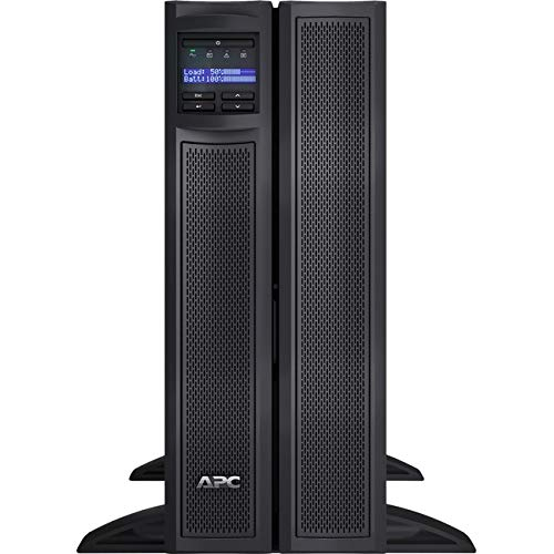 APC/Schneider Electric - SMX3000HVTUS - APC by Schneider Electric Smart-UPS X 3000VA Short Depth Tower/Rack Convertible LCD 208V - 3000 VA/2700 W - 230 V AC - 6.30 Minute Stand-by Time - 4U