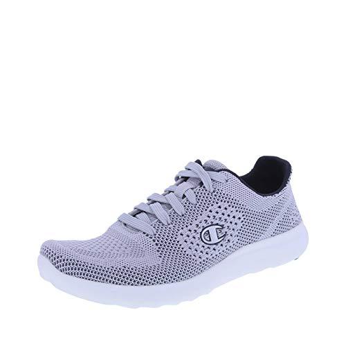 Champion Women's Grey Women's Activate Power Knit Runner 10 Regular (Best Affordable Running Shoes For Flat Feet)