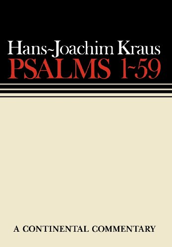 Psalms 1-59 (Continental Commentaries)