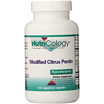 Nutricology Modified Citrus Pectin, Vegicaps, 120-Count