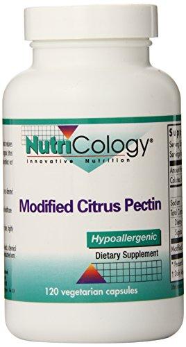 Nutricology Modified Citrus Pectin, Vegicaps, 120-Count