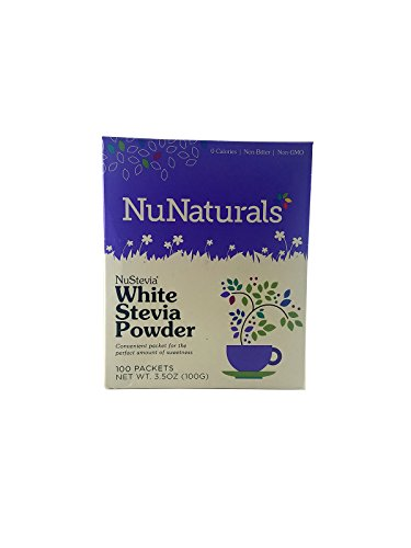 Nunaturals - Nustevia White Stevia Powder - 200 Packet(s) (Pack of ()
