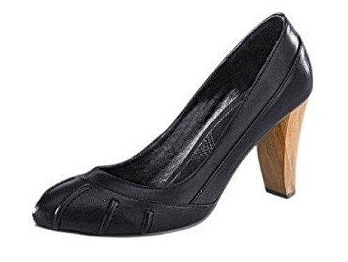 CHILLANY Pumps - Zapatos de Vestir de cuero Mujer negro - negro