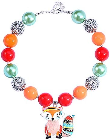 Bling Chunky Bubblegum Necklace Fashion