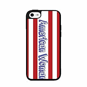 American Woman Plastic Phone Case Back Cover iPhone 5 5s