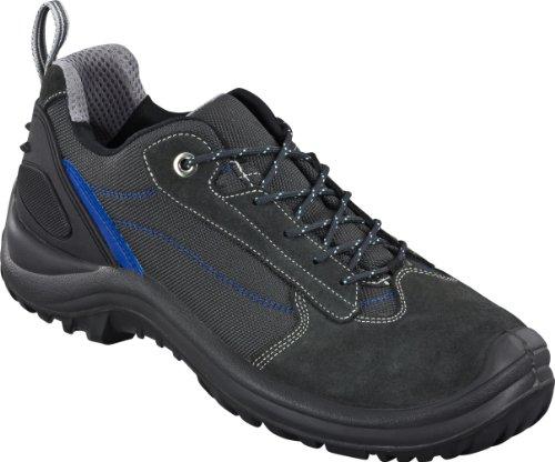 Chaussure de sécurité Sportif S1 2450-0-100-40 Chaussure, Cuir avec Nylon, Embout en acier (Largeur 11), Polyuréthane/Semelle en Polyuréthane, Doublure Respirante, Taille 40, Couleur: Noir avec Rayure