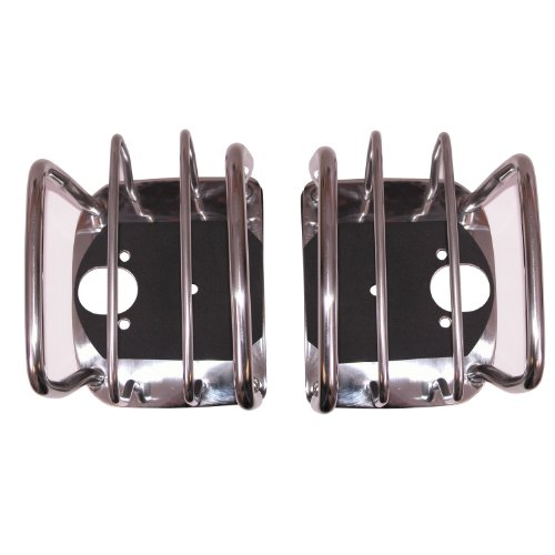 Rugged Ridge 11103.02 Stainless Rear Euro Taillight Guard – Pair