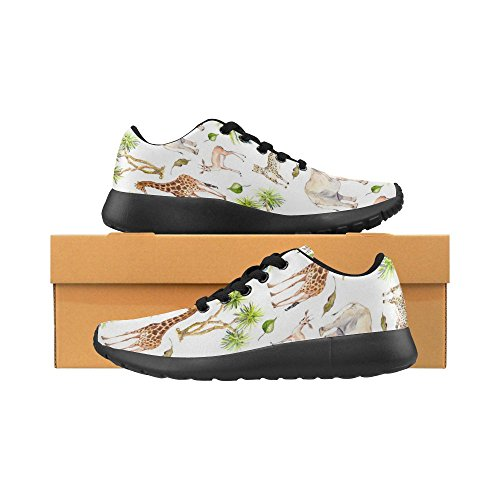 InterestPrint Womens Jogging Running Sneaker Lightweight Go Easy Walking Casual Comfort Sports Running Shoes Multi 9 prUIga