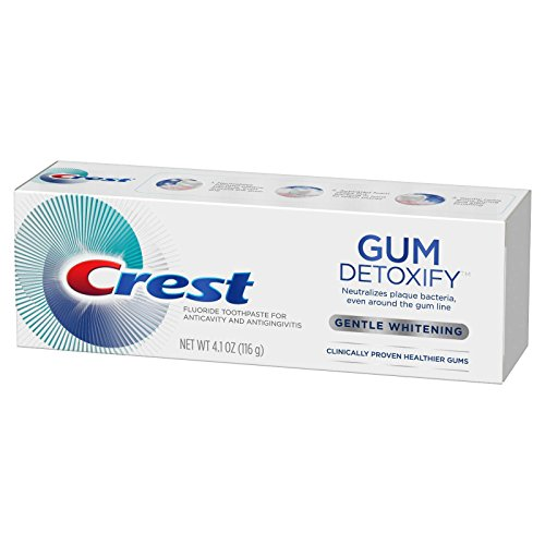Crest Car - Crest Gum Detoxify Gentle Whitening Fluoride Toothpaste - 4.1 oz