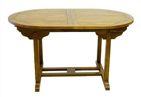 Gartentisch ausziehbar holz  Amazon.de: DIVERO Tisch Akazie Gartentisch Holztisch Holz 180/240 ...