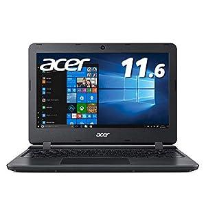 Acer ノートパソコン11.6型 Office搭載 Celeron 4GB 64GB eMMC ブラック