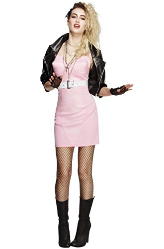 Mememall Fashion 80s Rocker Diva Dress Up Outfit Adult Costume (Real Spiderman Outfit)