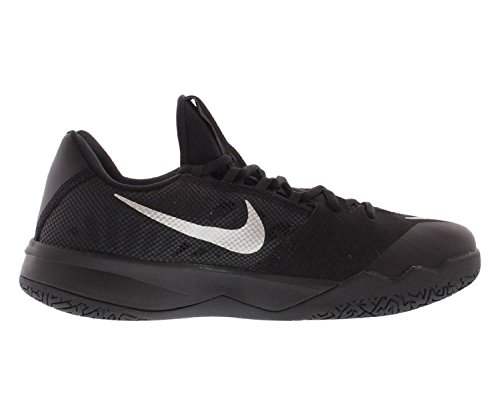 Pictures of nike Zoom Run The One Mens Basketball Black Metallic Silver 001 3