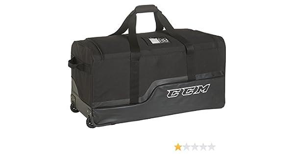 86361a81b59 Amazon.com   CCM 270 Wheeled Hockey bag Black 33
