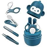 Bamoer Baby Nail Kit, Baby Nail Care Set 4-in-1