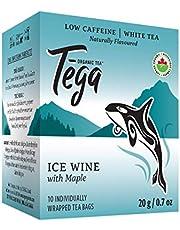 Tega Organic Tea Maple Ice-Wine White Tea, 10 Count