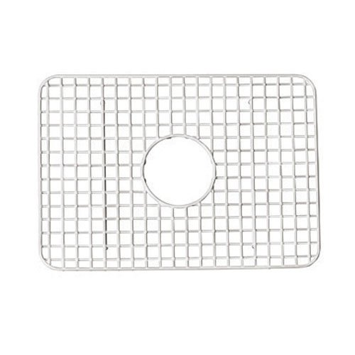 Rohl WSG2418SS 14-9/16-Inch by 20-7/16-Inch Wire Sink Grid for RC2418 Kitchen Sinks in Stainless Steel by Rohl