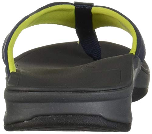 Reef Men's Ortho-Bounce Sport Sandal, Navy/Yellow, 070 M US by Reef (Image #2)