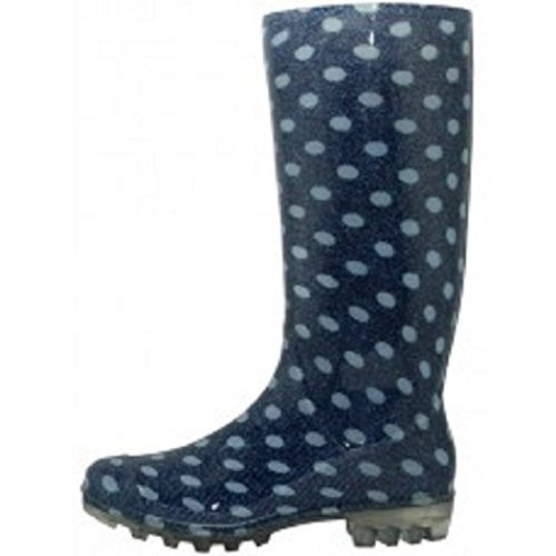 Shoes8teen Skor 18 Kvinnor Klassiska Regn Boot Polka Regn