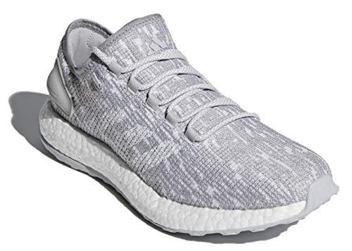adidas Men's Pureboost DPR LTD Glow-in-The-Dark Running Shoe (12.5, FTWR White/FTWR White/Blue)