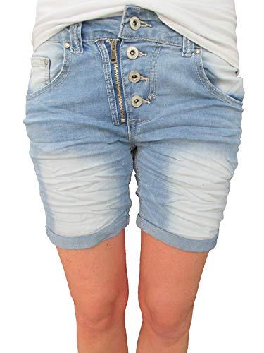 Pantalón Placedujour Para Mujer Corto Denim RwqO74w