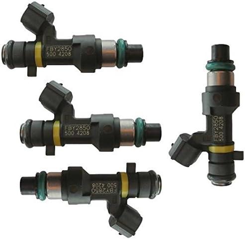 4Pcs Fuel Injector 16600-EA00A Fits 2007 2008 2009 Nissan Frontier 2.5L